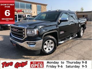 Used 2016 GMC Sierra 1500 SLE | Kodiak | 5.3L Crew | New Tires| B/Up Cam for sale in St Catharines, ON