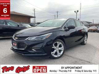 Used 2016 Chevrolet Cruze PREMIER | Htd Leather | Great Tires | Remote Start for sale in St Catharines, ON