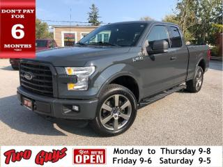 Used 2016 Ford F-150 XLT | 5.0L 4x4 | Nav | New Tires | Bluetooth for sale in St Catharines, ON