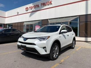 Used 2017 Toyota RAV4 Hybrid Limited for sale in Mississauga, ON