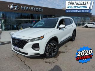 New 2020 Hyundai Santa Fe 2.0T Ultimate AWD  - Leather Seats - $270 B/W for sale in Simcoe, ON