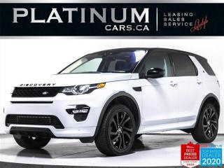 Used 2017 Land Rover Discovery Sport HSE Luxury, AWD, NAV, PANO, MERIDIAN, CAM, VENT for sale in Toronto, ON
