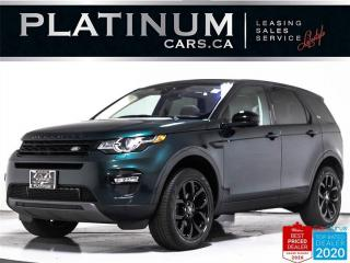 Used 2017 Land Rover Discovery Sport HSE, AWD, 7 PASS, BLK PKG, BLINDSPOT, NAV, PANO for sale in Toronto, ON