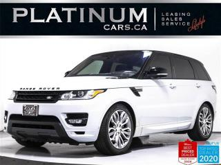 Used 2017 Land Rover Range Rover Sport Autobiography, 510HP, SUPERCHARGED, MASSAGE, NAV for sale in Toronto, ON