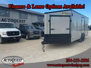 Used 2021 Stealth TRAILER 8.5' x 27' V-Nose Combo for sale in Winnipeg, MB