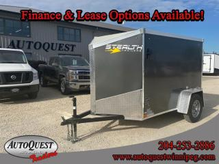 Used 2021 Stealth Cargo Trailer 5' x 8' V-Nose for sale in Winnipeg, MB