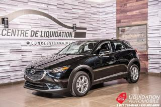 Used 2019 Mazda CX-3 GS+CAMERA DE RECUL+MAGS for sale in Laval, QC