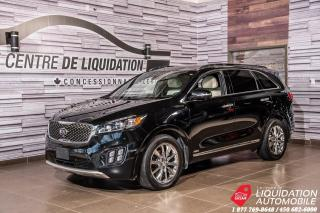 Used 2018 Kia Sorento SXL+7 PASSAGERS+LUXUEUX! for sale in Laval, QC
