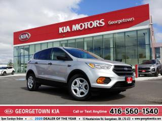Used 2017 Ford Escape S | CLEAN CARFAX | 53,150KM | B/TOOTH | HTD STS | for sale in Georgetown, ON
