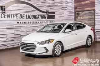 Used 2017 Hyundai Elantra LE+BLUETOOTH+SIEG/CHAUFF for sale in Laval, QC