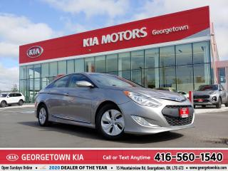 Used 2013 Hyundai Sonata Hybrid LIMITED | CLEAN CARFAX | ONE OWNER | HTD SEATS | for sale in Georgetown, ON