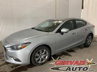 Used 2017 Mazda MAZDA3 GX Caméra GPS A/C Bluetooth for sale in Trois-Rivières, QC