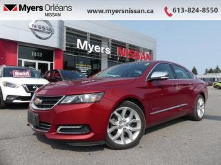Used 2015 Chevrolet Impala LTZ  - Leather Seats - $145 B/W for sale in Orleans, ON