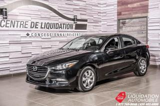 Used 2017 Mazda MAZDA3 GX+GR ELECTRIQUE+AIR CLIM for sale in Laval, QC