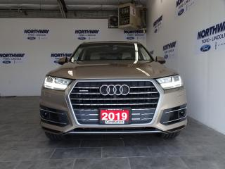Used 2019 Audi Q7 3.0T TECHNIK | AWD | LEATHER | ROOF | NAV | 7 PASS for sale in Brantford, ON