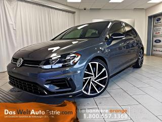 Used 2018 Volkswagen Golf R 4Motion, Cuir, Manual Très Bas Kilo! for sale in Sherbrooke, QC