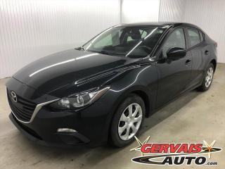 Used 2016 Mazda MAZDA3 GX A/C GPS BLUETOOTH CAMÉRA for sale in Shawinigan, QC