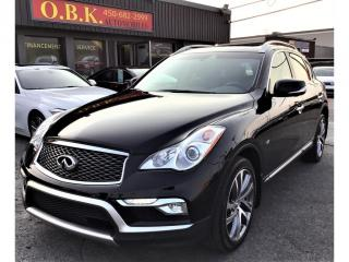 Used 2017 Infiniti QX50 TECH PKG-AWD-NAVIGATION-CAM RECUL 360-TOIT OUVT for sale in Laval, QC