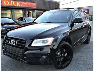 Used 2016 Audi Q5 S LINE-Progressiv-QUATTRO-NAVIGATION-TOIT-CAM RECU for sale in Laval, QC