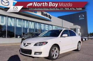 Used 2008 Mazda MAZDA3 GT Self Certify - Click Here! Test Drive Appts Available! for sale in North Bay, ON