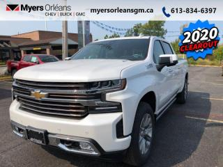 New 2020 Chevrolet Silverado 1500 High Country  JUST REPRICED!!! for sale in Orleans, ON