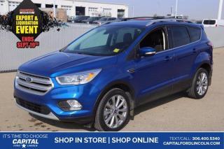 Used 2018 Ford Escape Titanium EcoBoost  4WD **New Arrival** for sale in Regina, SK