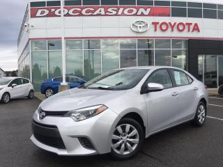 Used 2016 Toyota Corolla LE **AUTO/AIR/VITRES/CAMERA** for sale in St-Eustache, QC