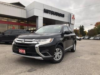 Used 2018 Mitsubishi Outlander ES for sale in North Bay, ON
