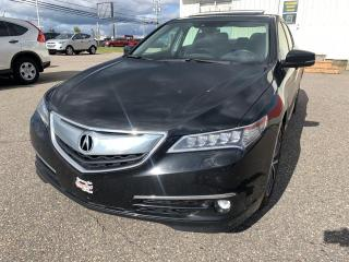 Used 2016 Acura TLX V6 Elite berline 4 portes SH-AWD for sale in Chicoutimi, QC