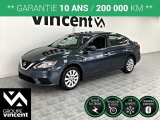Used 2016 Nissan Sentra S AUTOMATIQUE ** GARANTIE 10 ANS ** Fiable et efficace! for sale in Shawinigan, QC
