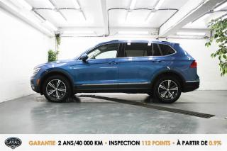 Used 2018 Volkswagen Tiguan 4MOTION Highline + 5 Pass + GPS + Keyless for sale in Québec, QC