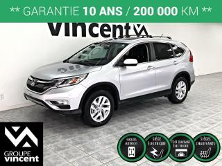 Used 2016 Honda CR-V EX AWD ** GARANTIE 10 ANS ** La sécurité d'abord! for sale in Shawinigan, QC