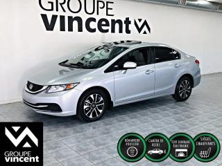 Used 2015 Honda Civic EX ** TOIT OUVRANT ** Votre chance d'avoir une Civic à bas prix! for sale in Shawinigan, QC