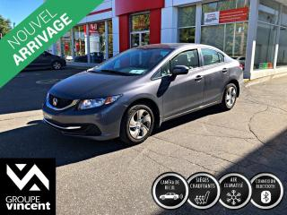 Used 2015 Honda Civic LX ** GARANTIE 10 ANS ** Fiable abordable et amusante! for sale in Shawinigan, QC