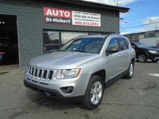 Used 2012 Jeep Compass Limited 4X4 for sale in St-Hubert, QC