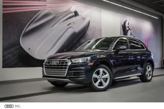 Used 2018 Audi Q5 PROGRESSIV - 2.0 TSFI - QUATTRO AWD for sale in Sherbrooke, QC