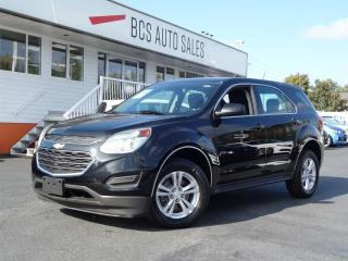 Used 2016 Chevrolet Equinox LS Edition Bluetooth Eco Drive Traction Control for sale in Vancouver, BC