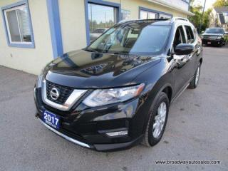 Used 2017 Nissan Rogue ALL-WHEEL DRIVE SV MODEL 5 PASSENGER 2.5L - DOHC.. SPORT & ECO MODE.. HEATED SEATS.. PANORAMIC SUNROOF.. BACK-UP CAMERA.. BLUETOOTH SYSTEM.. for sale in Bradford, ON