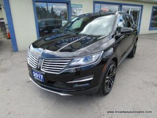 Used 2017 Lincoln MKC ALL-WHEEL DRIVE RESERVE EDITION 5 PASSENGER 2.3L - TURBO.. NAVIGATION.. LEATHER.. HEATED/AC SEATS.. PANORAMIC SUNROOF.. BACK-UP CAMERA.. BLUETOOTH.. for sale in Bradford, ON
