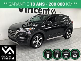 Used 2017 Hyundai Tucson SE 1.6T AWD CUIR TOIT ** GARANTIE 10 ANS ** Soyez prêt à affronter l'hiver! for sale in Shawinigan, QC