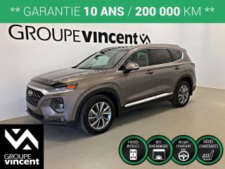 Used 2019 Hyundai Santa Fe PREFERRED 2.0T AWD TOIT PANO ** GARANTIE 10 ANS ** Liquidation 2019! Rabais de 7185$. for sale in Shawinigan, QC