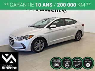 Used 2017 Hyundai Elantra GL ** GARANTIE 10 ANS ** Occasion à saisir, bas kilométrage! for sale in Shawinigan, QC