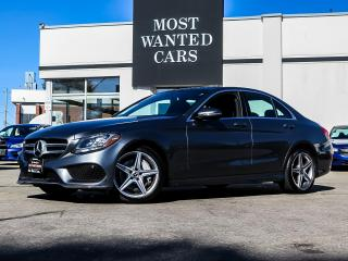 Used 2017 Mercedes-Benz C 300 4MATIC|AMG|BLIND|NAV|PADDLE SHIFTERS|FULL SENSORS for sale in Kitchener, ON