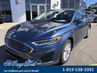 Used 2019 Ford Fusion Energi SEL TA Hybride for sale in Shawinigan, QC