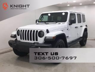 New 2021 Jeep Wrangler Altitude Unlimited | Leather | Navigation | for sale in Regina, SK