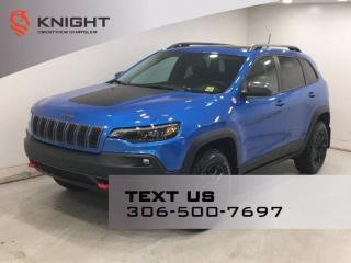 New 2021 Jeep Cherokee Trailhawk Elite 4x4 | Leather | Navigation | Sunroof | for sale in Regina, SK