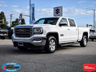 Used 2017 GMC Sierra 1500 SLE Kodiak Edition Crew Cab 4x4 ~5.3L ~Backup Cam for sale in Barrie, ON