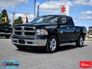 Used 2016 RAM 1500 SLT Quad Cab 4x4 ~5.7L HEMI ~8-Speed ~Backup Cam for sale in Barrie, ON