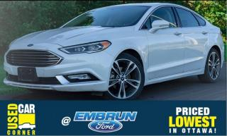 Used 2018 Ford Fusion Titanium for sale in Embrun, ON