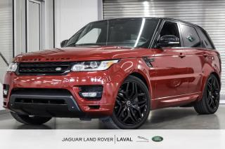 Used 2014 Land Rover Range Rover Sport V8 SC Autobiography Dynamic *BAS KMs, BIEN ÉQUIPÉ* for sale in Laval, QC